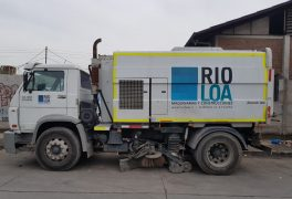 camion barrido industrial